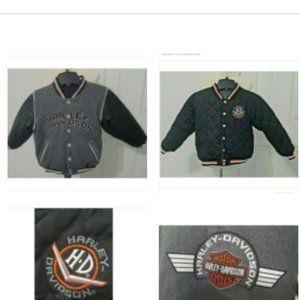 Toddler Harley Davidson Reversible Jacket Size